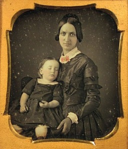 mother and child post mortem