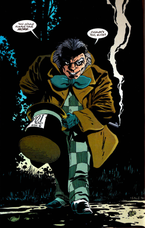 Art by Tim Sale, copyright DC Comics