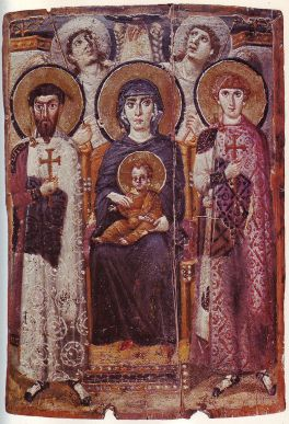 Mary and Child Enthroned - Unknown