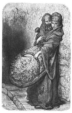 A Flower Girl #124 - Gustave Dore