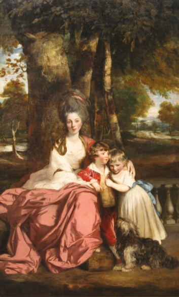 Lady Elizabeth Delme and Her Children (Sir Joshua Reynolds) (1779)