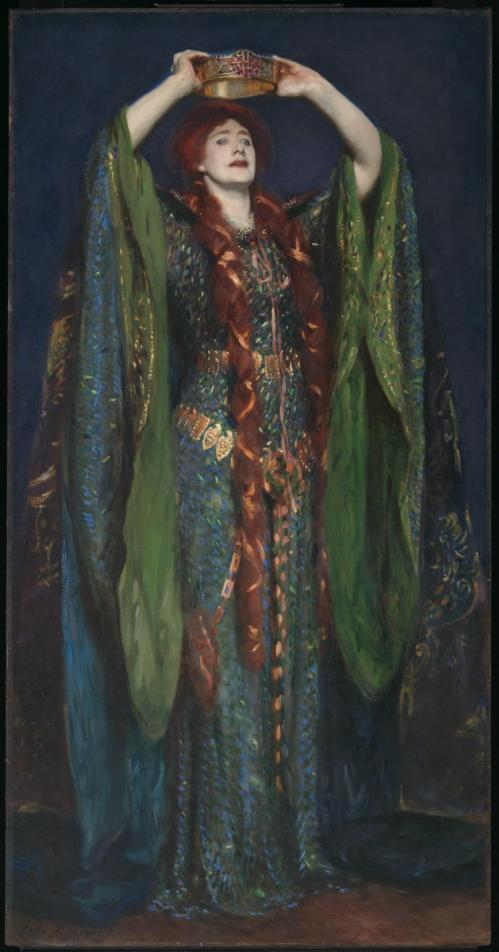 Ellen Terry as Lady Macbeth 1889 by John Singer Sargent 1856-1925