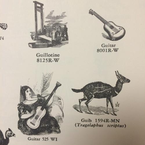 guitar:guillotine