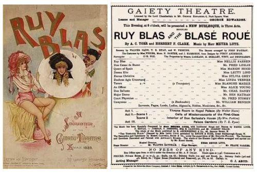 Ruy Blas and the Blas Roue